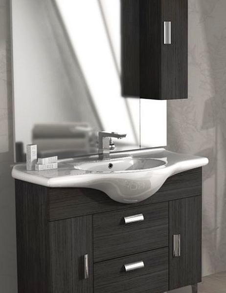 Mensola per vasca da bagno stile moderno in MDF GOTOTOP colore: Bianco